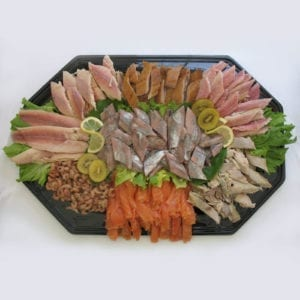 Visschotel groot (10-12 personen)